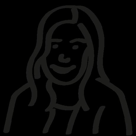 Verena Huber, illustration for testimonial, about